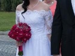 Suknia ślubna od PROJEKTANTKI!