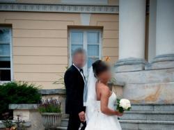 Suknia ślubna OKAZJA!!! r. 38 HERM'S 2013