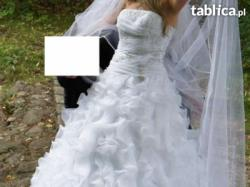 Suknia ślubna Olive z falbankami