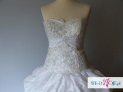 suknia slubna pasuje na rozmiar od 36 do 40 princessa