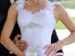 Suknia ślubna PERŁA okazja 1299 zł!