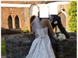suknia ślubna Perle di Delsa