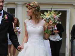 "Suknia ślubna – Peter Langner – model ""Waking Up"" – serial Chirurdzy – suknia April Kepner – EU 38"