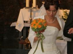 Suknia ślubna plus bolerko -> super okazja