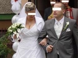 suknia ślubna plus gratisy
