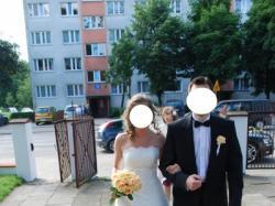 SUKNIA ŚLUBNA - POLKA SAN PATRICK