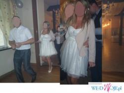 Suknia ślubna/poprawiny