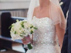 Suknia ślubna princeska RONALD JOYCE SWAROVSKI