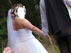 suknia ślubna princessa