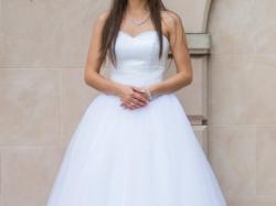 Suknia ślubna princessa 2015 kryształki