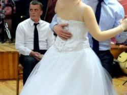 Suknia ślubna princessa! Dodatki gratis