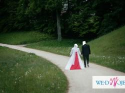 Suknia ślubna princessa GRATIS bolerko, welon oraz buty!