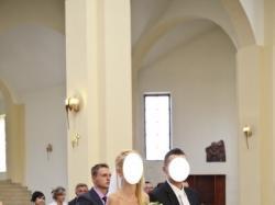 Suknia Ślubna Princessa Kryształki Swarovskiego - Jak NOWA