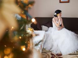 Suknia ślubna princessa, model Iksja, rozm. 36/38