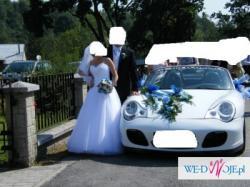 Suknia ślubna, Princessa r.36, tiul, Swarovski, przepiękna polecam, biel
