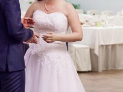 Suknia ślubna princessa r. 38-40