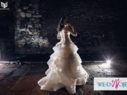 Suknia slubna princessa - swietna jakosc - niezniszczona /oryginalna cena: 6000