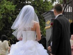Suknia ślubna - projekt indywidualny.