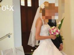 Suknia ślubna projekt Justin Alexander rozm. 36 / 173 cm