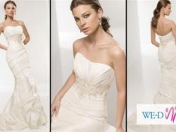 Suknia ślubna projektu Elianny Moore