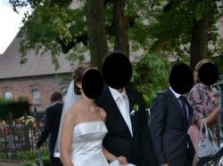 Suknia ślubna Pronovias ferma
