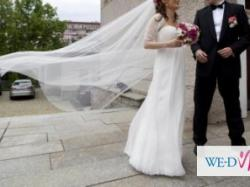 suknia Ślubna PRONOVIAS  HERALDO  *** GRATISY  ***