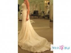 Suknia ślubna PRONOVIAS IDEAL+GRATISY TANIO!!!!!!!!!!!