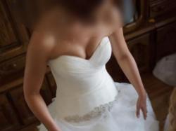 Suknia ślubna Pronovias, model Benicarlo +welon 2,5 m gratis !