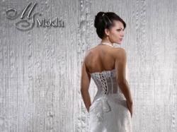 Suknia ślubna, r. 36/38, 170cm biała/śmietank.
