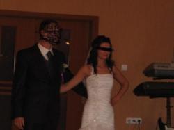 suknia ślubna r.36 + welon i bolerko