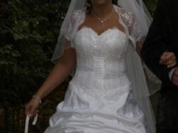Suknia ślubna r.38-40