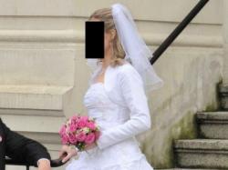 Suknia ślubna r. 38 biała