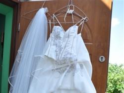 Suknia Ślubna R.38 Ecru