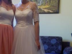 Suknia ślubna r.38 wzrost 164 +5cm biała księżniczka