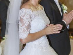 Suknia ślubna r. 40