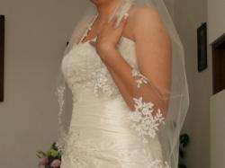 Suknia Ślubna r.40-42 / gratis welon i bolerko