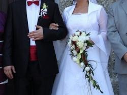 Suknia ślubna r.40-42 za 550 zł TANIO