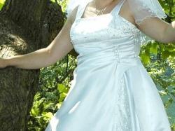 Suknia ślubna r. 44