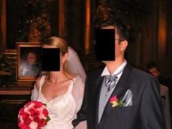 suknia ślubna renomowanej firmy Justin Aleksander z salonu CYMBE