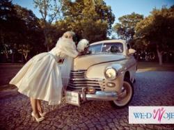 Suknia ślubna RETRO Lata'50 Biancaneve 910 GRATISY