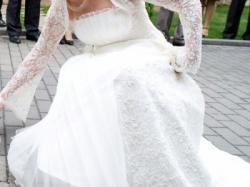 Suknia ślubna Romace salon Karina pochodząca z tegorocznej kolekcji Romantica