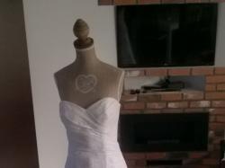 Suknia Ślubna- romantyczna koronka