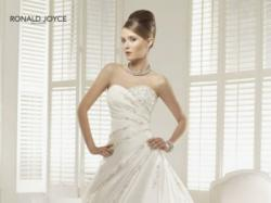 Suknia ślubna Ronald Joyce 36/38 + bolerko + szal