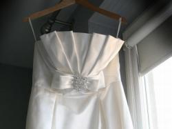 Suknia ślubna ROSA CLARA Oslo - jedwab ivory - 40