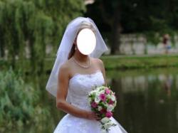 Suknia ślubna roz. 34
