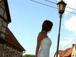 Suknia Ślubna roz. 36, biała, Syrena firmy Aspera