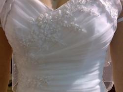 Suknia ślubna, roz. 36, PRINCESSA, haftowana + dodatki GRATIS!!!
