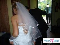 Suknia ślubna roz.38 -tanio