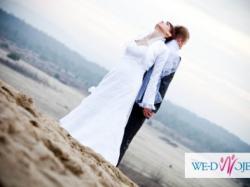 Suknia ślubna roz. 38- zakupiona w salonie +gratis bolerko