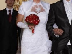 Suknia ślubna roz. 42